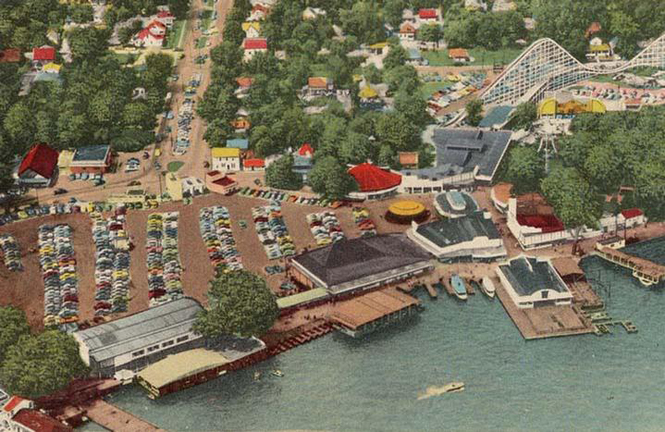 Amusement park for Buckeye lake fishing